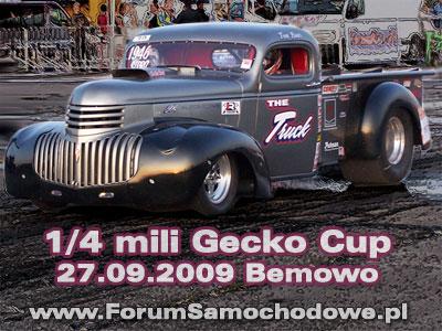 1/4 mili Bemowo - Wielki finał Gecko Cup / relacja