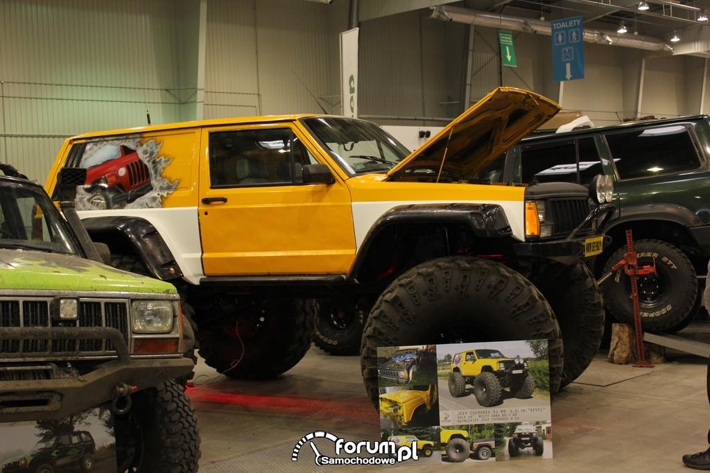 Jeep Cherokee XJ 89, 6.3L V8 - XEVIL
