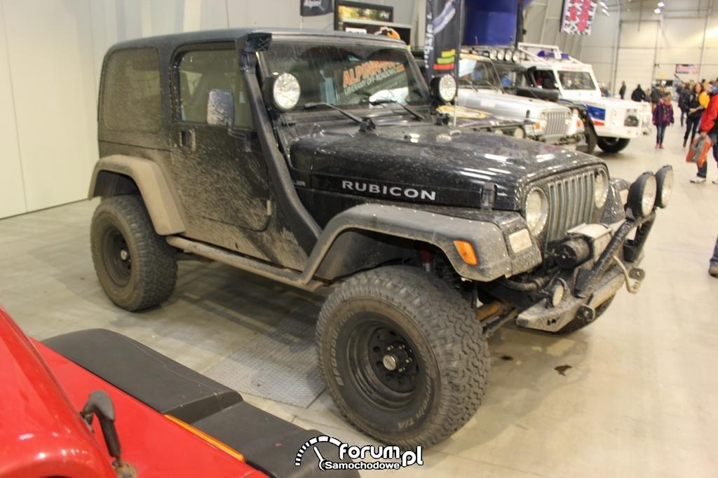 Jeep Rubicon, ubłocony