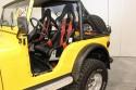 Jeep Wrangler, wnętrze, siedzenia