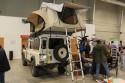 Land Rover Defender z zabudową namiotową
