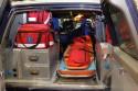Off Road Rescue Team, wnętrze i wyposażenie samochodu medycznego