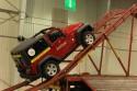 Rampa dla samochodów terenowych, Jeep Wrangler, podjazd