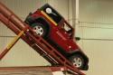 Rampa dla samochodów terenowych, Jeep Wrangler, zjazd