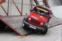 Rampa przechyłu bocznego dla samochodów terenowych