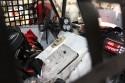 Samochód 4x4 do rajdów offroadowych, wnętrze