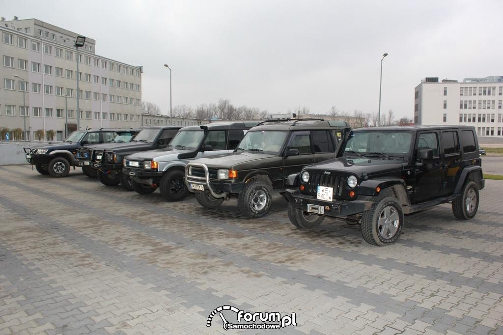 Samochody terenowe, Jeepy