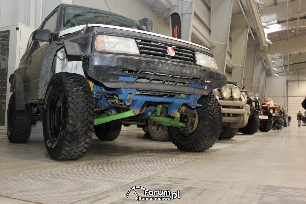 Suzuki Vitara, zawieszenie przeprawowe