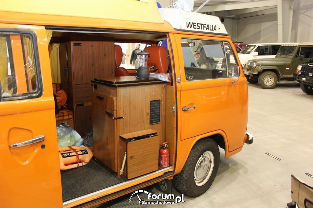 Volkswagen Westfalia, wnętrze