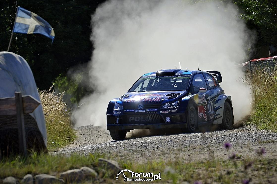 Volkswagen Polo R WRC, droga szutrowa