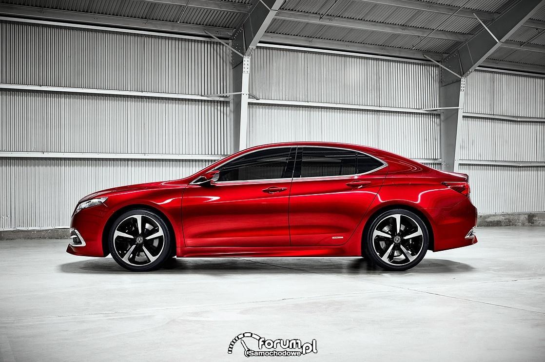Acura TLX, bok, 2015