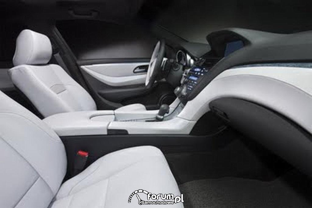 Acura ZDX, wnętrze