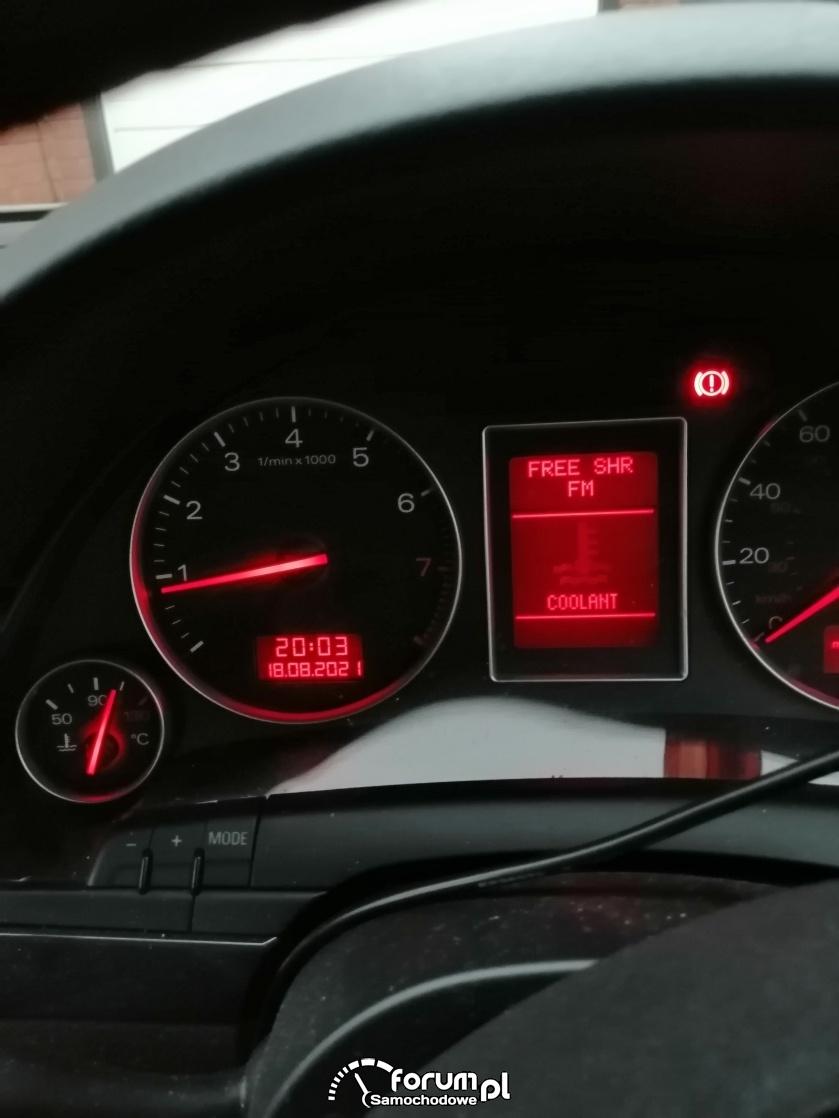Audi temperatura