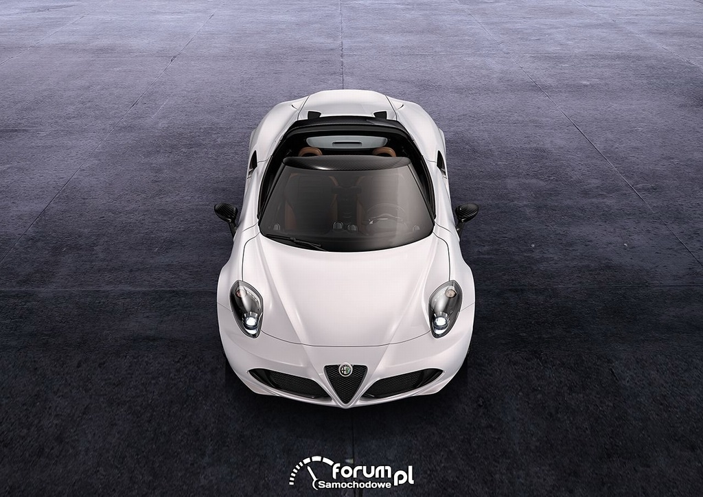 Alfa Romeo 4C Spider, przód