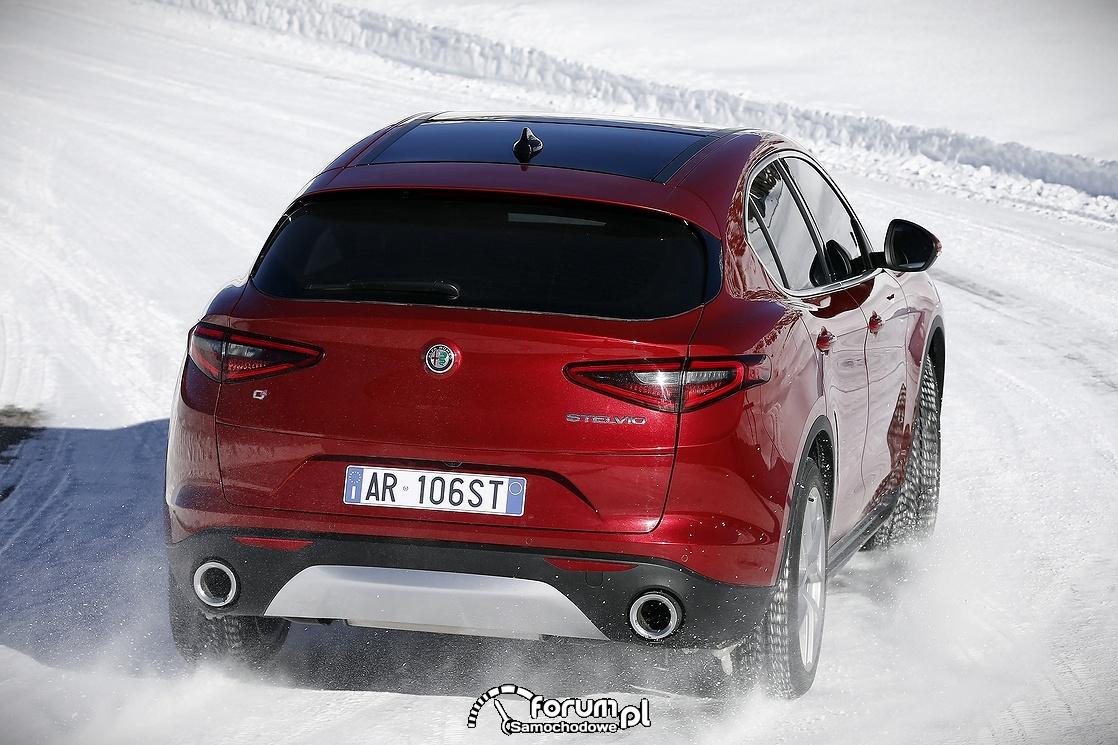 Alfa Romeo Stelvio, tył