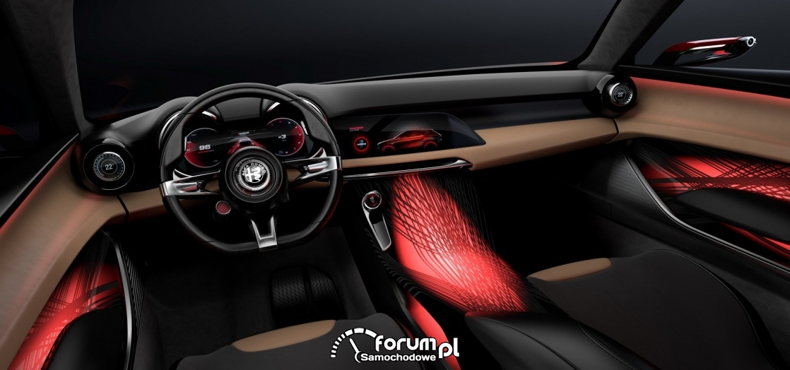 Alfa Romeo Tonale, wnętrze