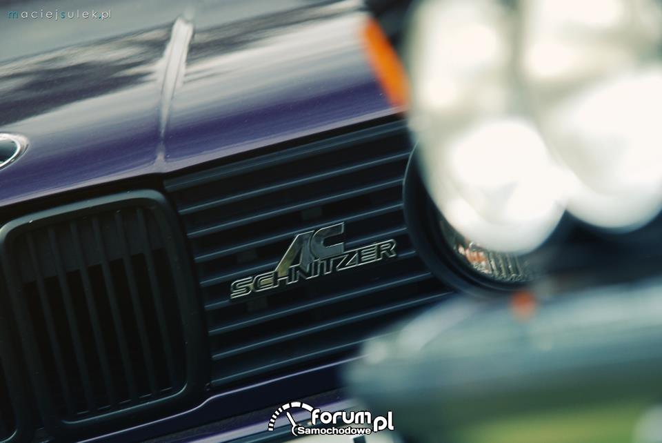 BMW 3 E30 AC Schnitzer Cabrio, Logo, Tuning, ASTW