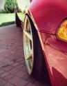 Alufelgi z wystającym rantem, Honda Civic V
