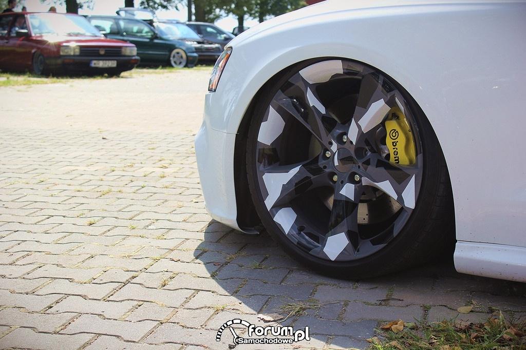 Alufelgi, zaciski Brembo, Audi A5