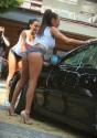 Dziewczyny myją Audi A3, car wash show.jpg