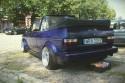 VW Golf I kabriolet, tył