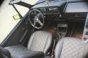 VW Golf I kabriolet, wnętrze
