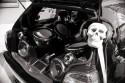 Zabudowa bagażnika car audio, VW Golf III