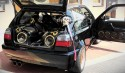 Zabudowa car audio, VW Golf III