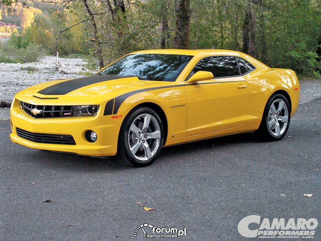 Chevrolet Camaro, American Muscle