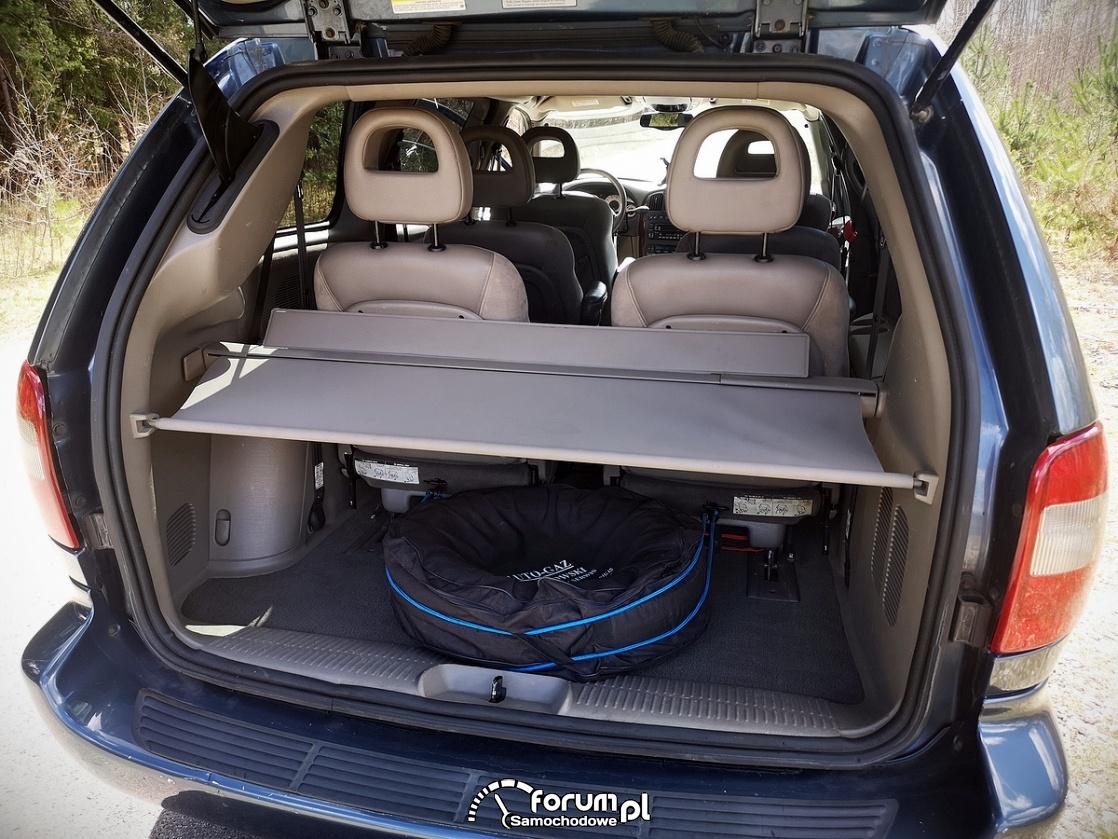 Chrysler Grand Voyager 3.3 LIMITED, bagażnik