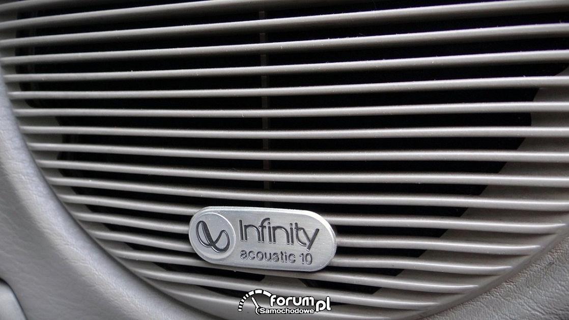 Chrysler Grand Voyager 3.3 LIMITED, głośniki Infinity