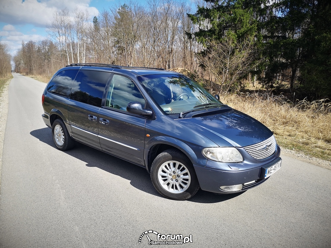 Chrysler Grand Voyager 3.3 LIMITED, prawa strona