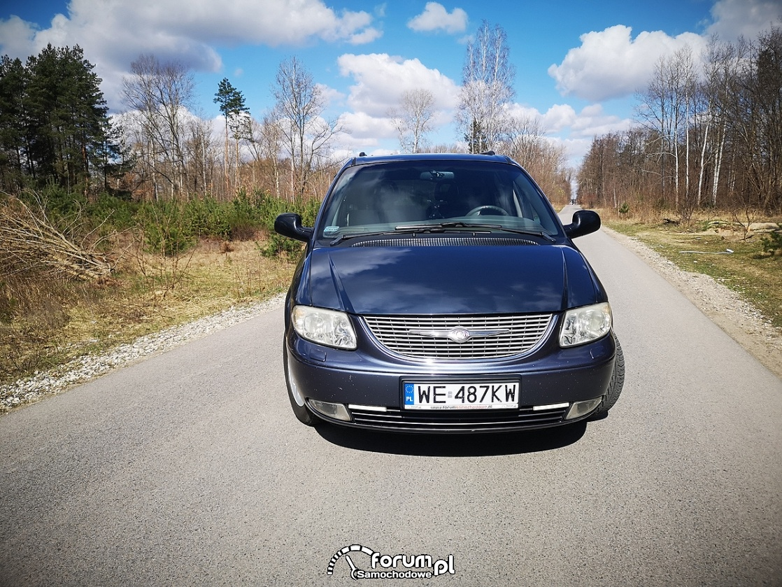 Chrysler Grand Voyager 3.3 LIMITED, przód