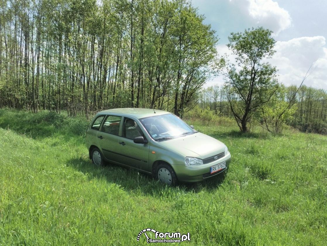 Łada 1117 Kalinka na bezdrożach :)