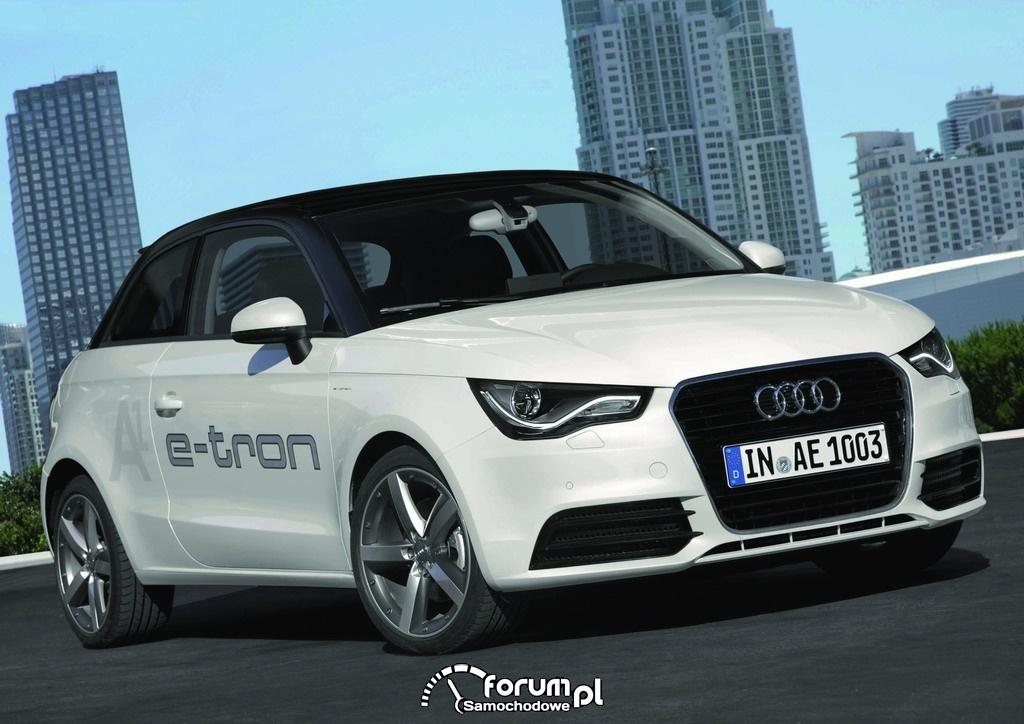 Audi A1 e-tron - samochód elektryczny