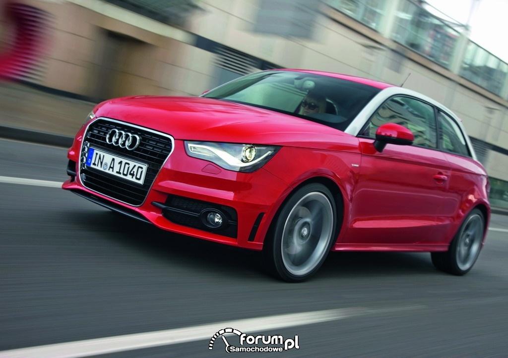 Audi A1 - widok z przodu