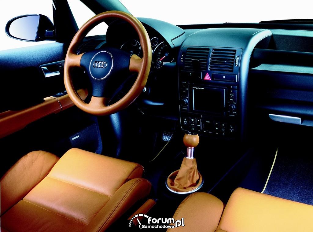 Audi A2, wnętrze