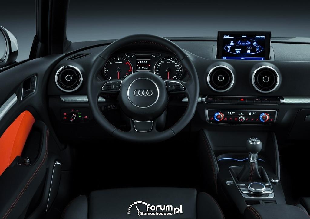 Audi A3 2012 wnętrze