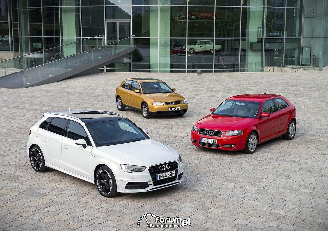 Audi A3, modele