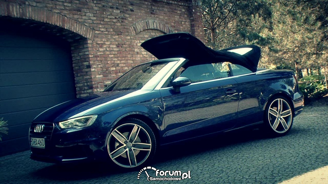 Audi A3, składany dach