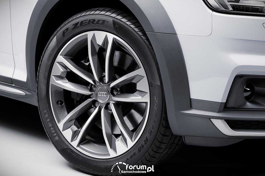 Audi A4 allroad quattro, alufelgi
