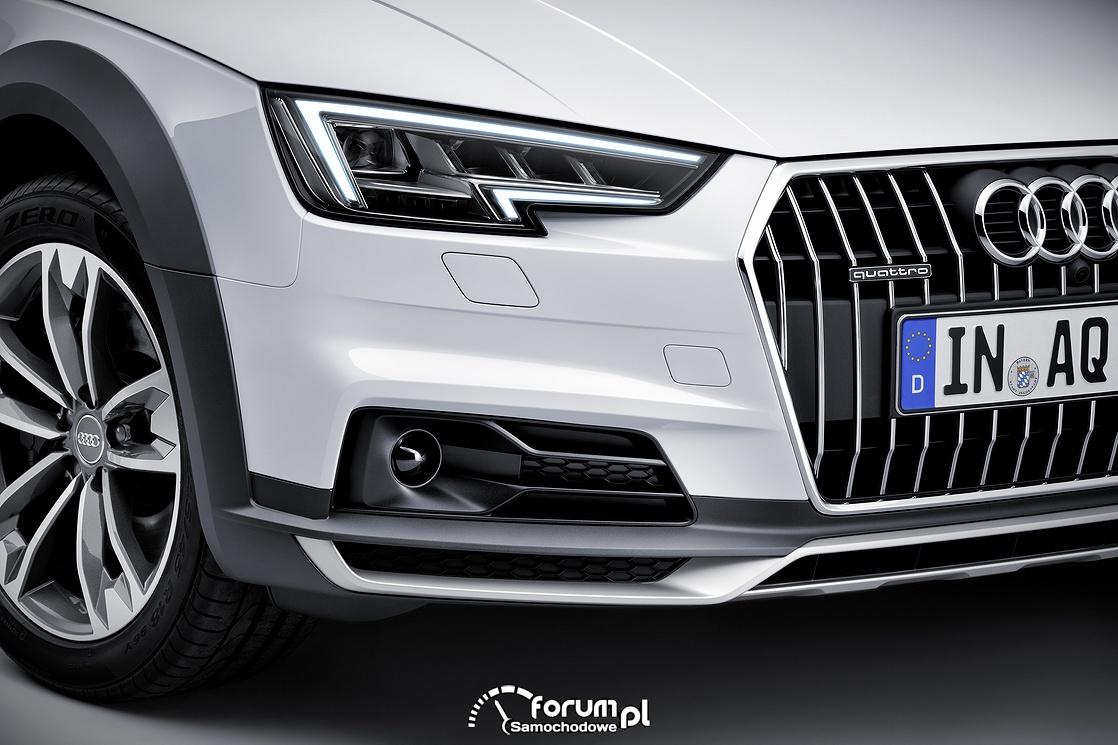 Audi A4 allroad quattro - wysoki komfort jazdy z zaletami offroad