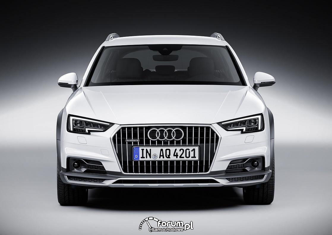 Audi A4 allroad quattro, przód