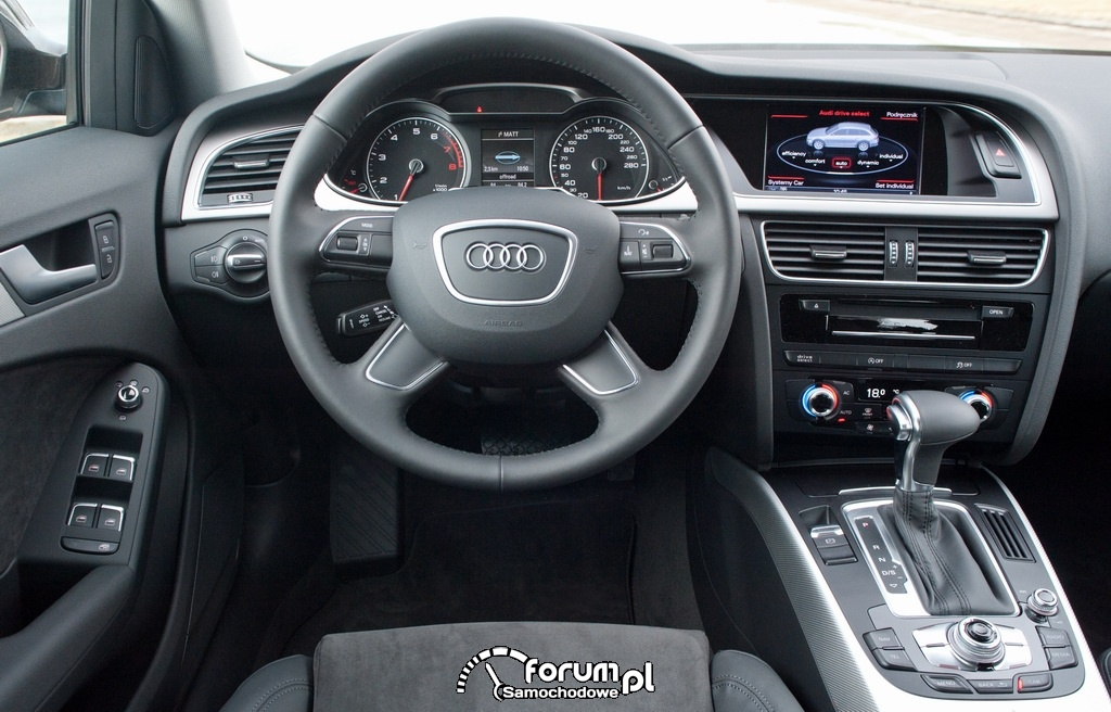 Audi A4 allroad quattro, wnętrze