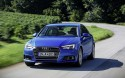 Audi A4, przód