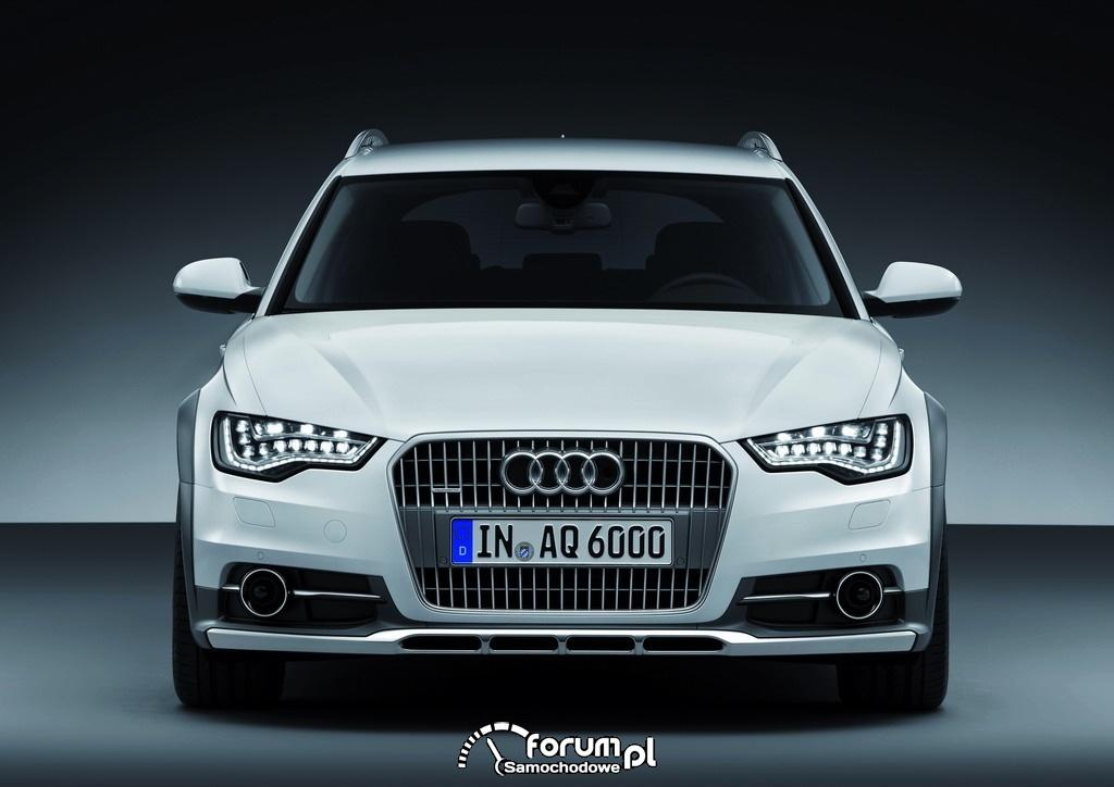 Audi A6 allroad quattro - Avant 2012, 01