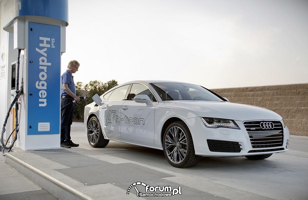 Audi A7 h-tron, Hydrogen Shell