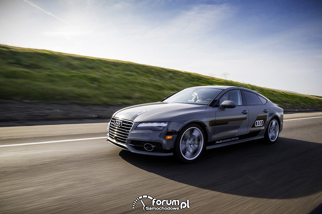 Audi A7 piloted driving concept - test długodystansowy