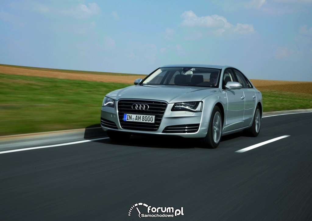 Audi A8 hybrid, 4
