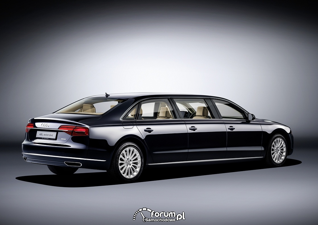 Audi A8 L extended, tył